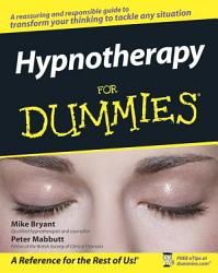 Hypnotherapy For Dummies Book PDF
