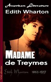 Madame de Treymes: American Literature