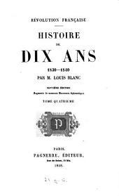 Révolution française: histoire de dix ans, 1830-1840, Volume3