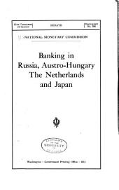 Banking in Russia, Austro-Hungary, the Netherlands and Japan