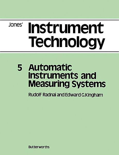 Automatic Instruments and Measuring Systems PDF