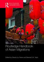 Routledge Handbook of Asian Migrations PDF