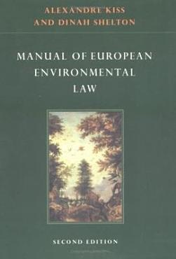 Manual of European Environmental Law PDF