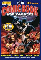 2010 Comic Book Checklist   Price Guide PDF