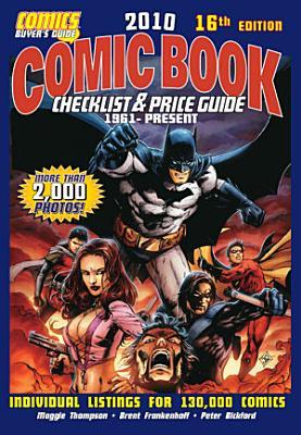 2010 Comic Book Checklist   Price Guide