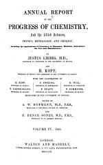 Annual Report of the Progress of Chemistry and the Allied Sciences Physics, Mineralogy and Geology