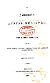 The American Annual Register: Part 1