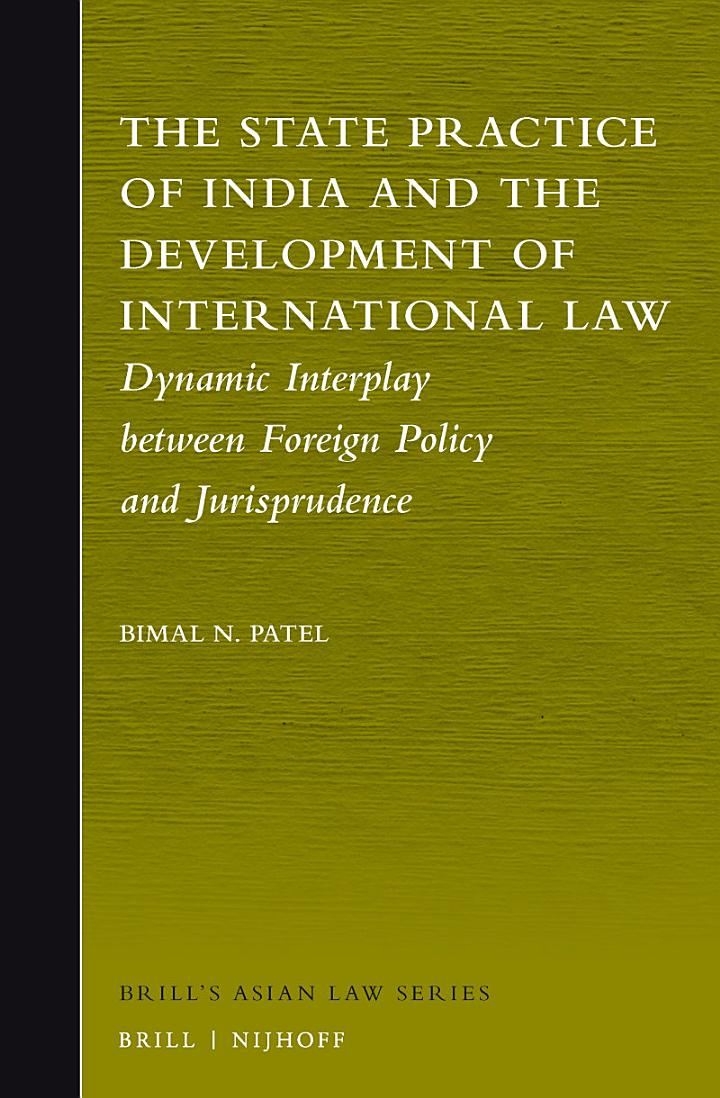 The State Practice of India and the Development of International Law