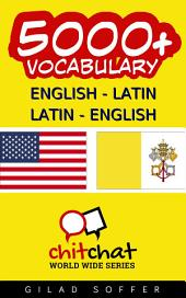 5000+ English - Latin Latin - English Vocabulary