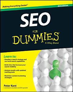 SEO For Dummies Book