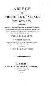Abrégé de l'histoire générale des voyages: Volume19