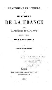 Le consulat et l'empire: Volume9