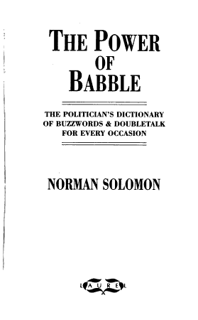 The Power of Babble PDF