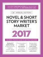 Novel   Short Story Writer s Market 2017 PDF