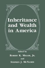 Inheritance and Wealth in America PDF