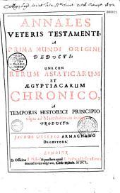 Annales Veteris Testamenti, a prima mundi origine deducti