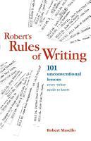 Robert s Rules of Writing PDF