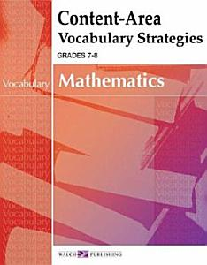 Content-area Vocabulary Strategies For Mathematics