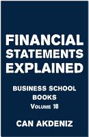 Financial Statement Analysis Explained PDF