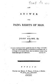 An Answer to Pain's Rights of Man