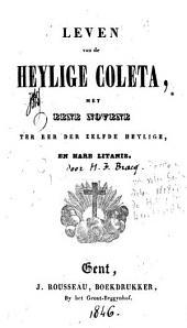 Leven van de heylige Coleta, met eene novene ter eer der zelfde heylige en hare litanie