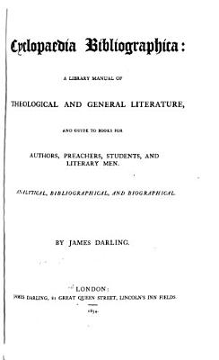 Cyclopaedia Bibliographica PDF