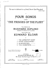 "Four Songs from ""The Fringes of the Fleet"""