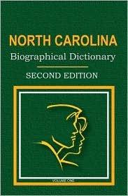 North Carolina Biographical Dictionary PDF