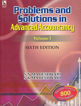 Problems   Solutions in Advanced Accountancy Volume I  6th Edition PDF