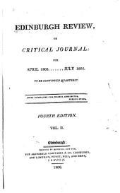 The Edinburgh Review: Volume 2