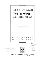 as One Mad with Wine and Other Similes PDF