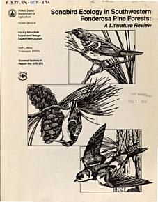 Songbird Ecology in Southwestern Ponderosa Pine Forests PDF