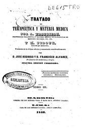 Tratado de terapeutica y materia medica: Volumen 3