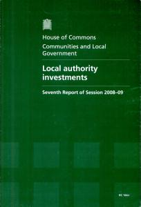 Local authority investments PDF