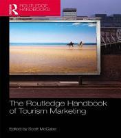 The Routledge Handbook of Tourism Marketing PDF