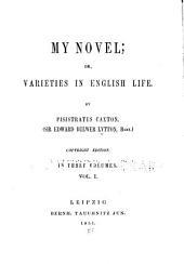 My novel: or, Varieties in English life, Volume 1
