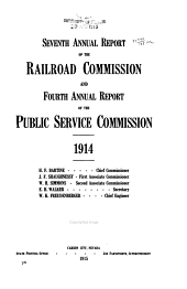 Reports of the Railroad and Public Service Commissions of Nevada: Volumes 7-8