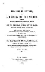 The Treasury of History, Being a History of the World