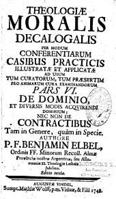 Theologia Moralis Decalogalis ac sacramentalis
