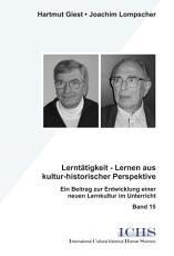 Lernt  tigkeit   Lernen aus kultur historischer Perspektive PDF