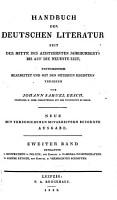 Handbuch der Deutschen literatur seit der mitte des achtzehnten jahrhunderts bis auf die neueste zeit  Literatur de jurisprudenz und politik PDF