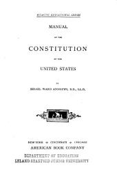 Manual of the Constitution of the United States