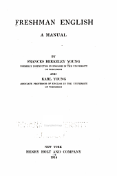 Freshman English: A Manual