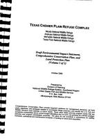 Texas Chenier Plain National Wildlife Refuge Complex PDF