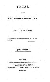 Trial of the Rev. Edward Irving ... Fifth edition