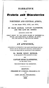 Narrative of Travels and Discoveries in Northern and Central Africa: In the Years 1822, 1823, and 1824