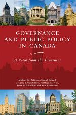 Governance and Public Policy in Canada