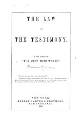 The Law and the Testimony
