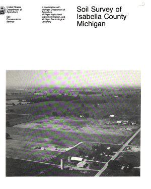 Soil Survey of Isabella County  Michigan
