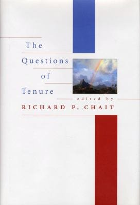 The Questions of Tenure PDF